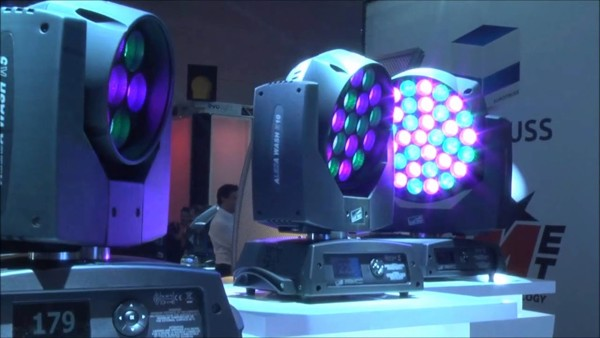 Đèn sân khấu CLAY PAKY - A.leda Wash K5 cao cấp nhập khẩu chính hãng