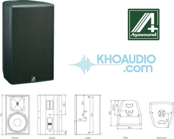 Loa karaoke Agasound AX 12F