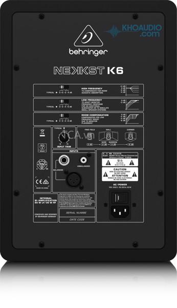 Loa monitor Behringer K6 nhập khẩu chính hãng 100%