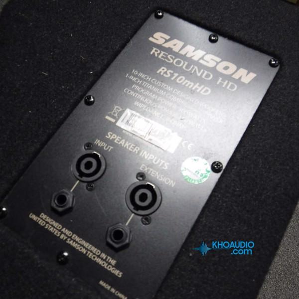Loa kiểm âm Samson RS10M HD chuyên nghiệp dành cho ca sĩ