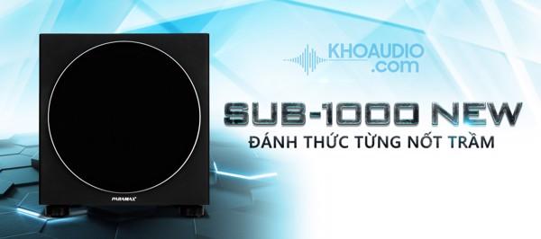 Loa sub karaoke Paramax SUB-1000