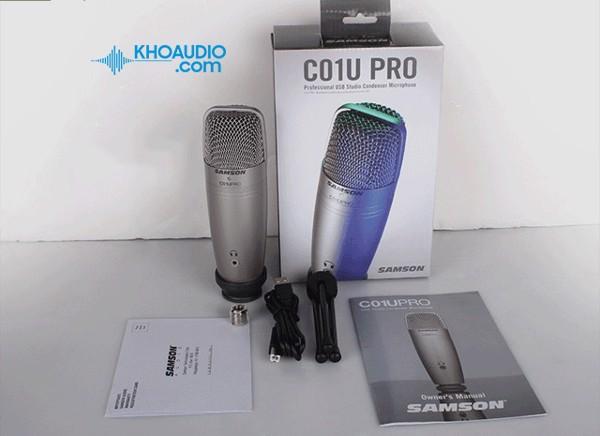 Mic thu âm Samson C01 chính hãng