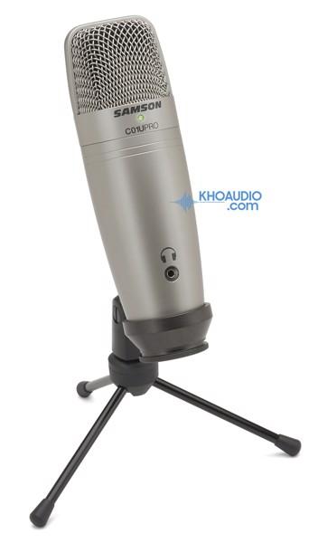 Micro thu âm Samson C01U Pro chính hãng