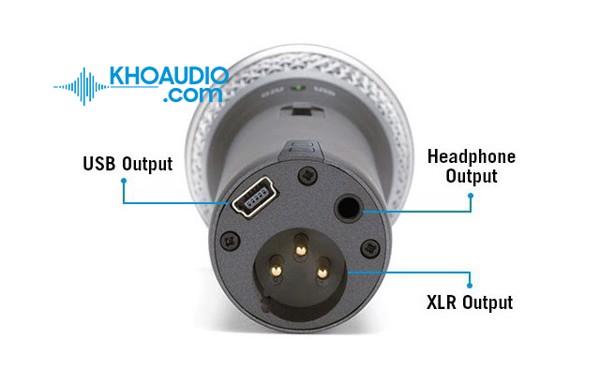 Micro USB thu âm Dynamic Samson Q2U - Samson Q2U