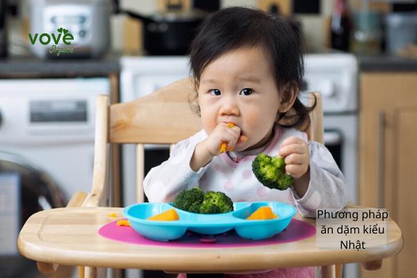 Những điều mẹ nên biết về phương pháp ăn dặm kiểu Nhật