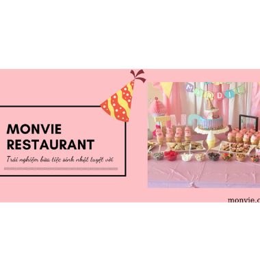 Bật mí địa điểm tổ chức tiệc sinh nhật ngọt chuyên nghiệp hàng đầu