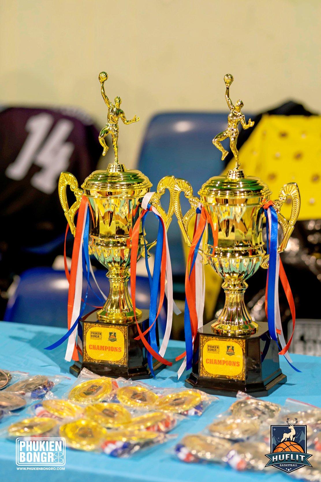 PHUKIENBONGRO.COM tài trợ Giải bóng rổ HUFLIT OPEN MASTER CUP 2019