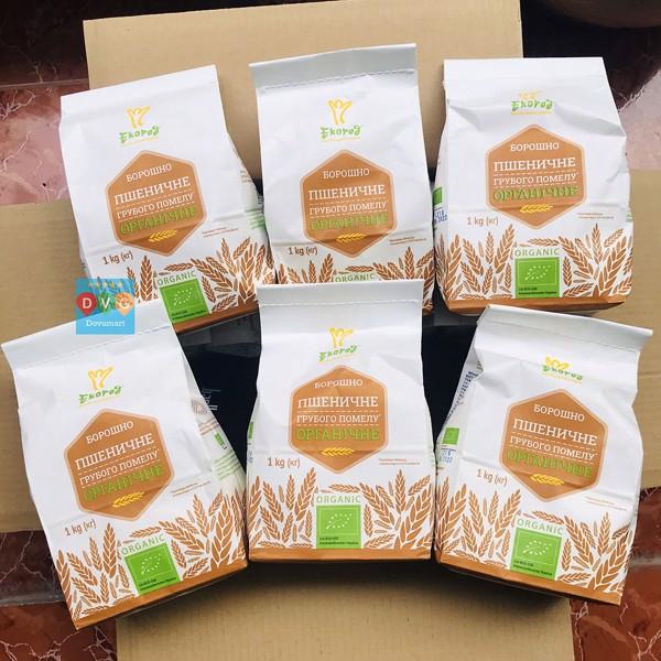 Bột mì nguyên cám hữu cơ loại nào tốt