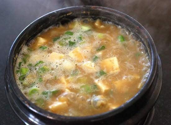 Tương đậu nấu canh Hàn Quốc