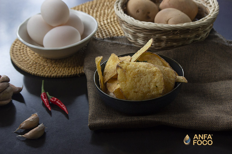 Khoai tây trứng muối ANFAFOCO