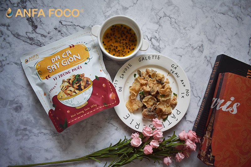 Top những món ăn vặt được ưa chuộng nhất tại ANFAFOCO