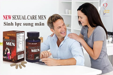 NEW SEXUAL CARE MEN - Sinh Lực Sung Mãn