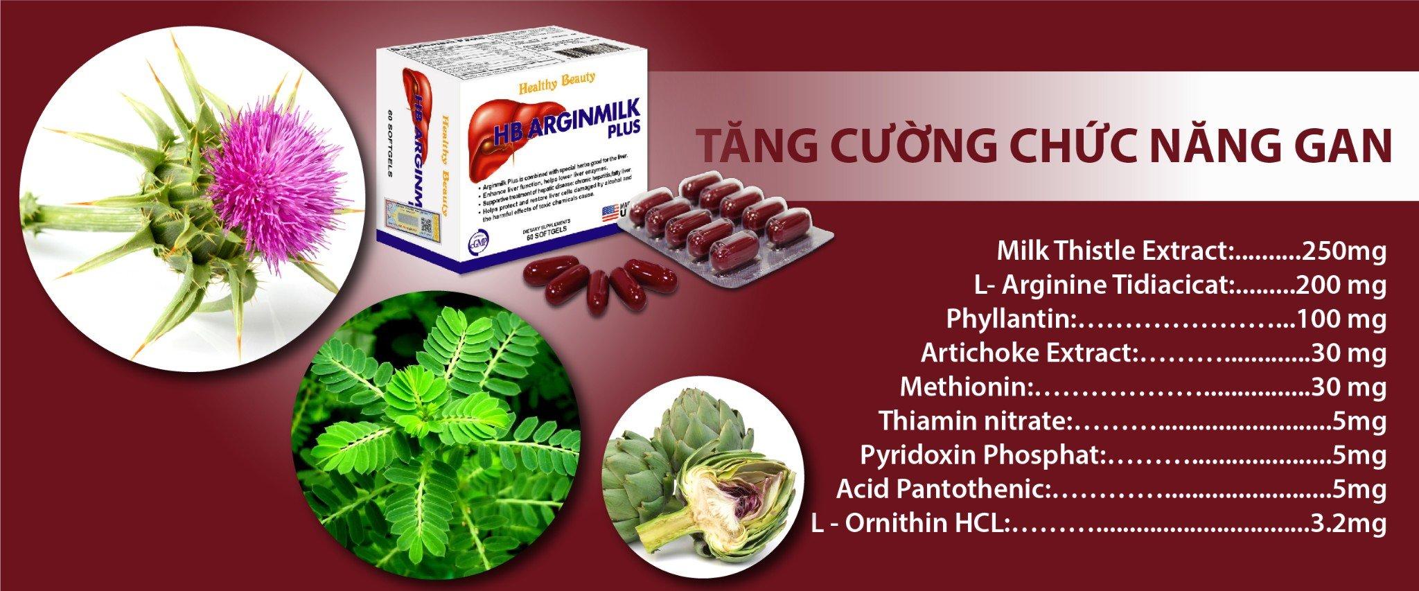 Arginmilk giúp hỗ trợ điều trị và phục hồi tế bào gan
