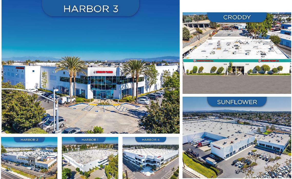 Nhà máy robinson pharma với 7 phân khu