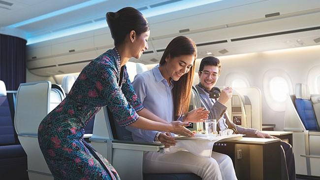 Giảm đến 30% giá vé hạng thương gia Malaysia Airlines