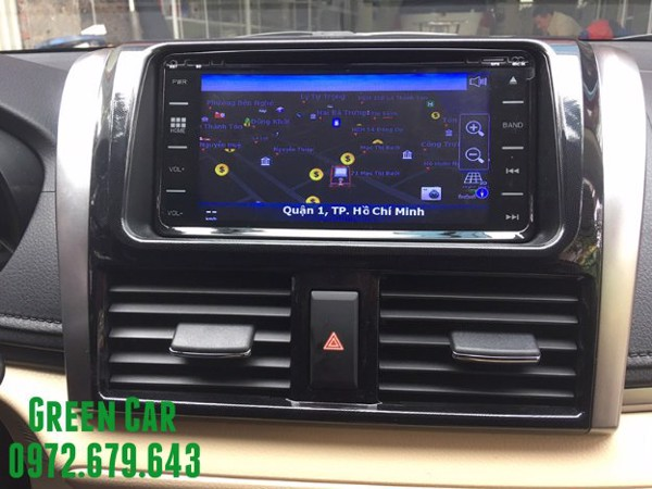 DVD Android cho Vios 2008-2012
