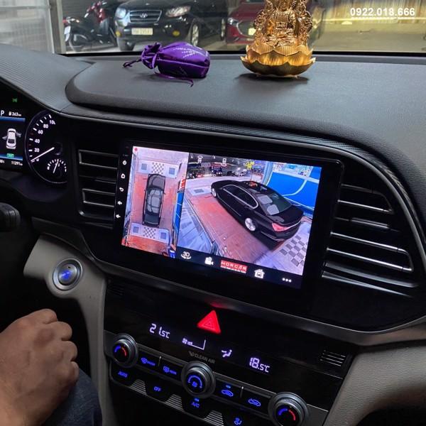 Màn Hình DVD Android Hyundai Elantra 2020 - 2021 Cấu Hình Cao Giá Tốt