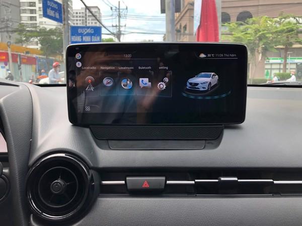Màn Hình Android Mazda 2 2015,2016,2017,2018,2019,2020,2021 Cắm sim 4G