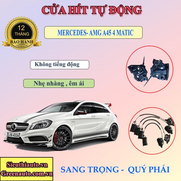 Độ Cửa Hít Điện Tự Động Cho Xe  Mercedes-AMG A 45 4MATIC