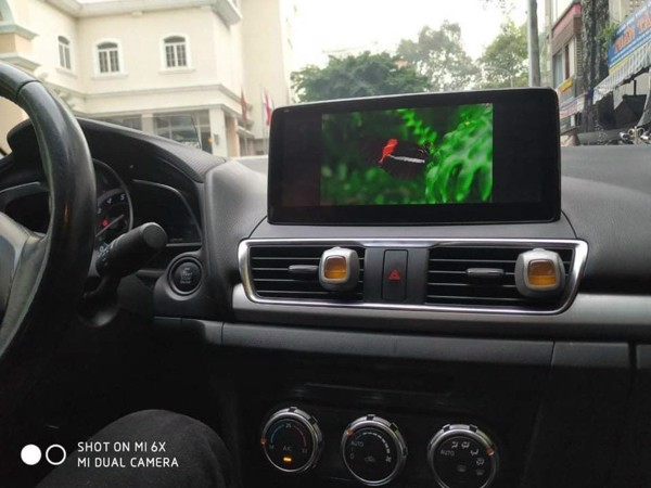 Màn Hình Android Mazda 3 2015 2016 2017 2018 2019 2020 Cắm Sim 4G