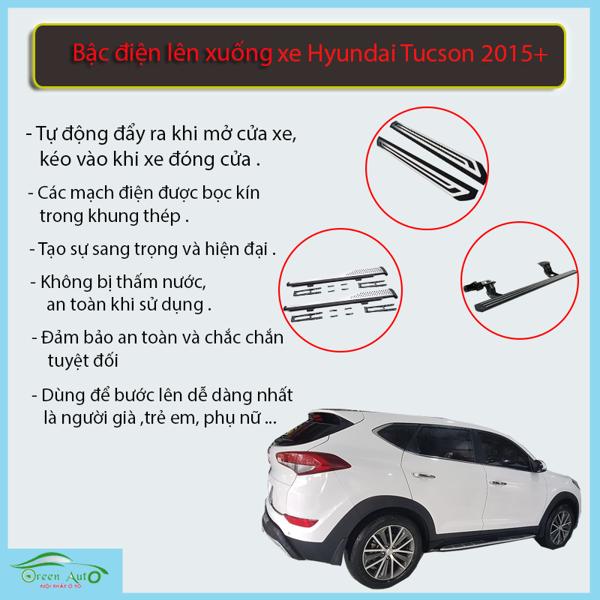 Bậc Điện Lên Xuống Hyundai Tuc son 2015-2019
