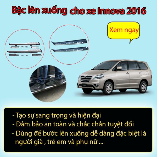 Bậc (Bệ)  Lên Xuống Toyota Innova 2016