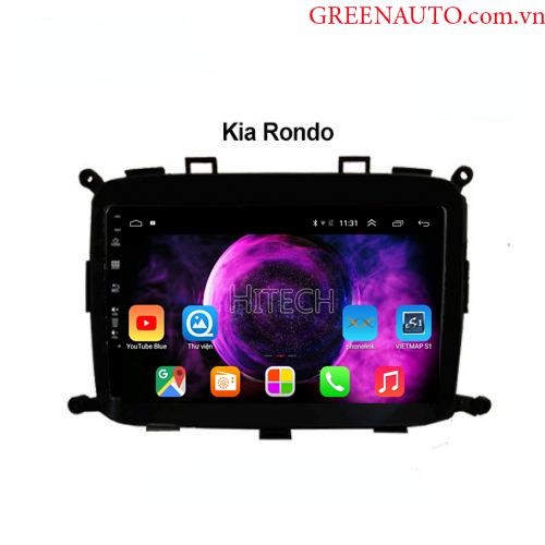 Màn hình Android Kia Ronda 2009-2013 Hitech H500 Cắm Sim 4G
