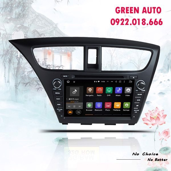 DVD Android Honda Civic 2014-2015