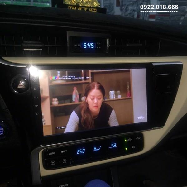 Màn Hình DVD Android Toyota Altis 2020 - 2021 Cấu hình Cao Giá Tốt