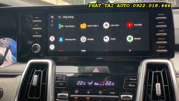 Android Box Xe Mazda 6 Giữ Nguyên Bản Màn Zin Của Xe Cấu Hình Ram 4GB Rom 64GB
