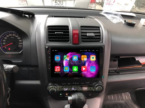 Màn hình Android Honda CR-V 2007-2010 Hitech H500 Cắm Sim 4G