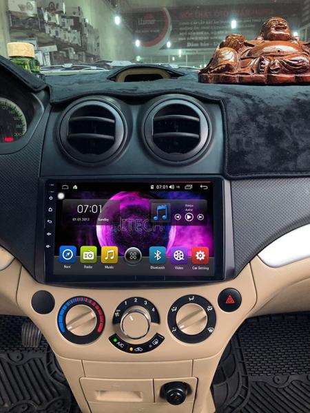 Màn Hình Android Chevrolet Aveo Thương hiệu Hitech Pro
