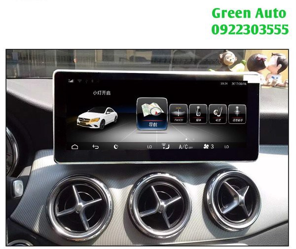 DVD Android cho xe Mercedes GLK 300
