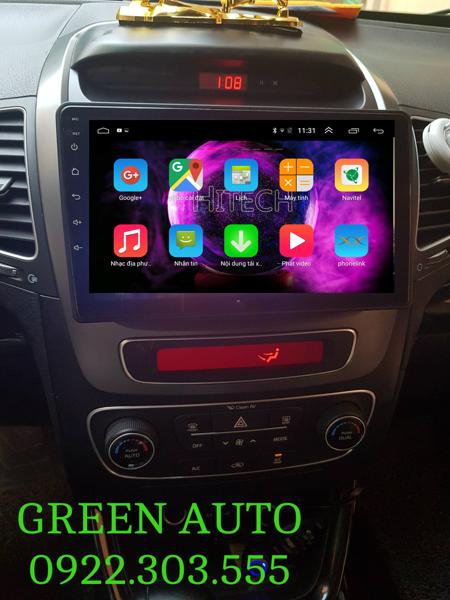 Màn hình Android Kia Sorento 2014-2018 Hitech H500 Cắm Sim 4G