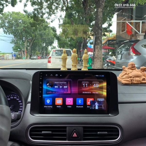 Màn Hình Android Hyundai Kona 2020 - 2021 Cấu Hình Cao Giá Tốt