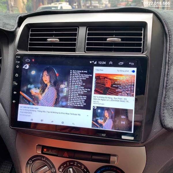 Màn Hình DVD Android Toyota Wigo 2020 - 2021 Cấu Hình Cao Giá Tốt
