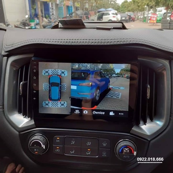 Màn Hình Android Chevrolet Trailblazer 2020 - 2021 Cấu Hình Cao Giá Tốt