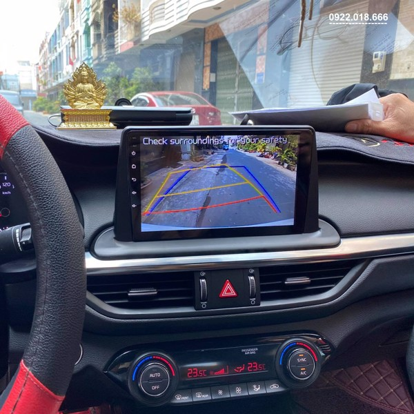 Màn Hình DVD Android Kia Cerato 2020 - 2021 Cấu Hình Cao Giá Tốt