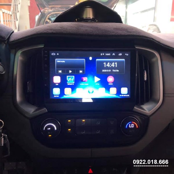 Màn Hình DVD Android Chevrolet Colorado 2020 - 2021 Cấu Hình Cao Giá Tốt
