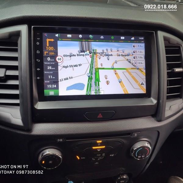 Màn Hình DVD Android Ford Ranger 2020 - 2021 Cấu Hình Cao Giá Tốt