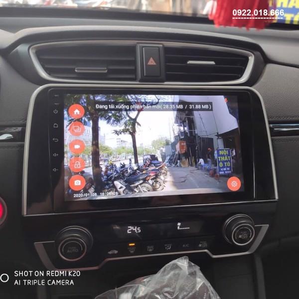Màn Hình DVD Android Honda CRV 2020 - 2021 Cấu Hình Cao Giá Tốt