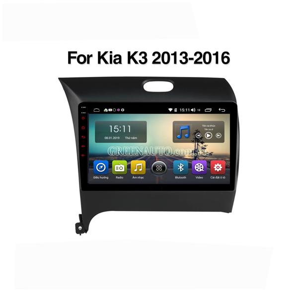 Màn Hình Android Kia Cerato K3 2013-2018 Hitech Pro Cắm Sim 4G