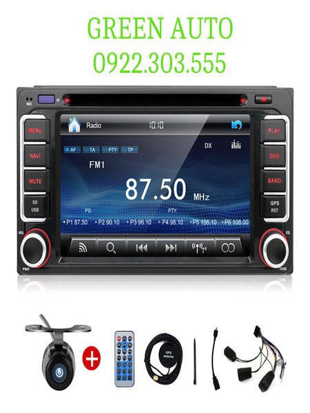 DVD Android cho xe Toyota Hilux