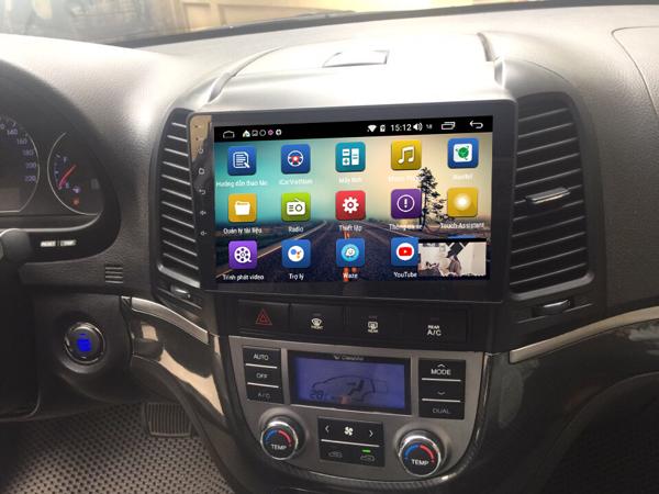 Màn Hình Android Hyundai Santafe 2006-2012 Hitech Pro