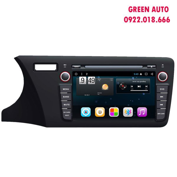 DVD Android Honda City 2014-2017