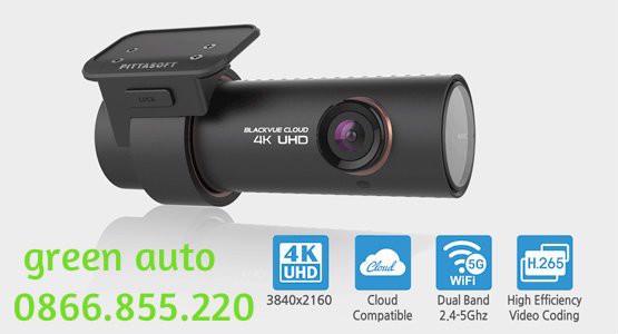 BlackVue Cloud DR900S 1CH 16G (4K UHD, Wifi, GPS) – Camera giám sát