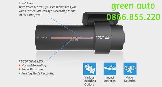 BlackVue Cloud DR900S 2CH 16G (4K UHD, Wifi, GPS – Camera giám sát hàn