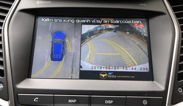 Camera 360 độ OWIN cho Hyundai Santafe