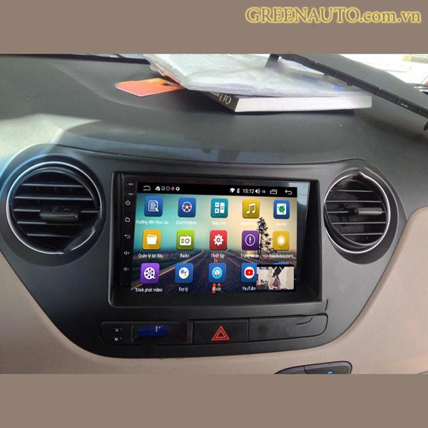 Màn Hình Android Hyundai I10 2012-2018 Hitech Pro Cắm Sim 4G