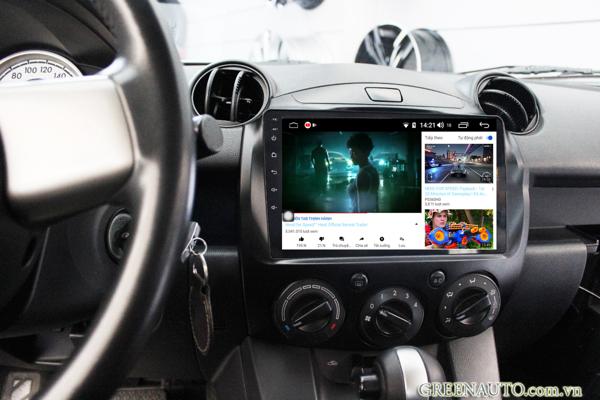 Màn Hình Android Mazda 2 2007-2012 Hitech H500 Cắm Sim 4G